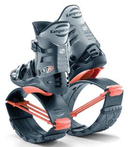 Skákací Kangoo boty - klokaní boty - oranžové