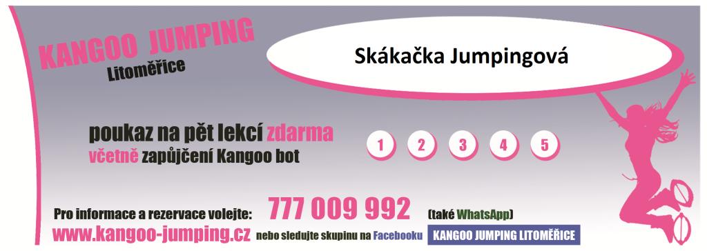 Dárkový poukaz Kangoo Jumping Litoměřice