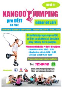 Kangoo Jumping deti - Litomerice, Lovosice, Libochovice
