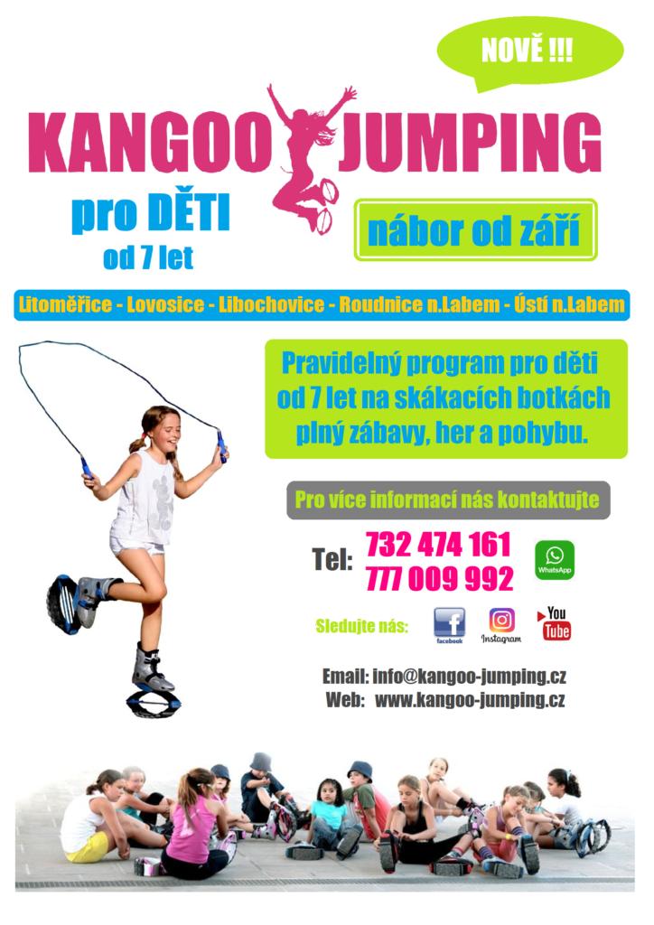 KANGOO JUMPING DĚTI - Litoměřice ,Lovosice, Libochovice, Ústí nad Labem, Roudnice nad Labem
