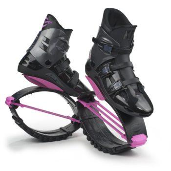 Skákací klokaní boty KJ XR3 černo-růžové