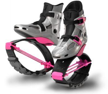kj powershoe dětské skákací boty - růžové