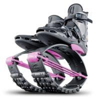 Skákací boty KJXR3 černo-růžové