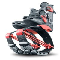 kangoo jumps shoes kj power shoe for juniors red-titanium
