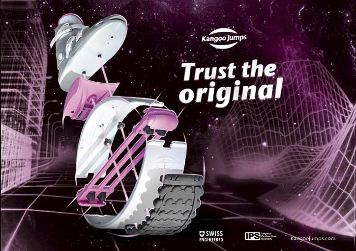 Trust the original kangoo jumps shoes pink