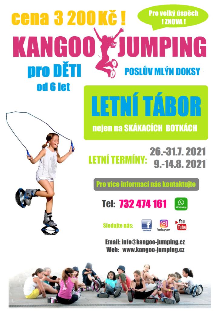 kangoo jumping letní tábor pro děti